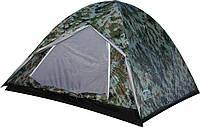 Палатка туристическая 2х местная KILIMANJARO SS-06Т-112-1 2м для походов и туризма