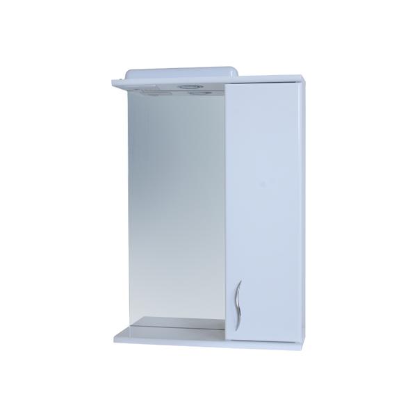 Зеркало для ванной комнаты Базис 50-01 правое ПИК