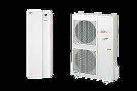 Тепловий насос Fujitsu спліт-система серії HIGH POWER з ГВС WGYG140DG6 / WOYG112LCTA