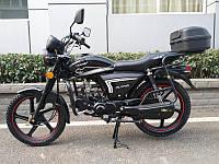 Мотоцикл HORNET ALPHA (Classic) (дискові гальма, 125 см. куб., чорний/граффит)