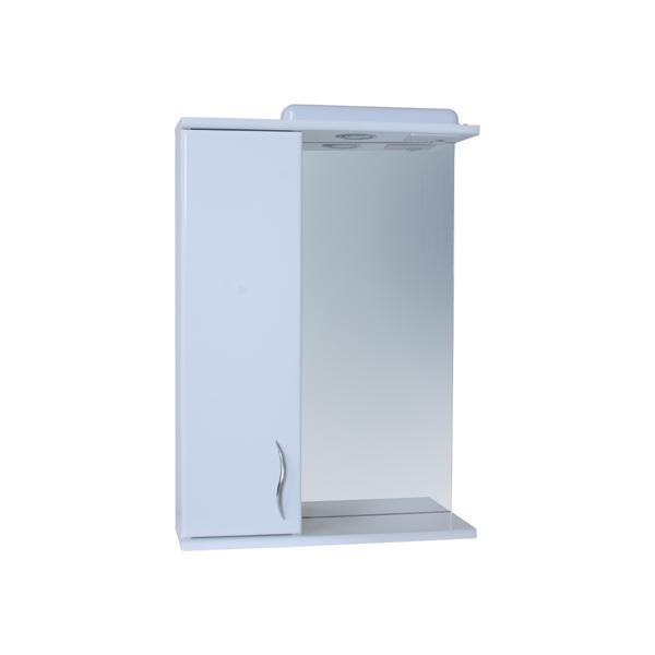 Зеркало для ванной комнаты Базис 50-01 левое ПИК