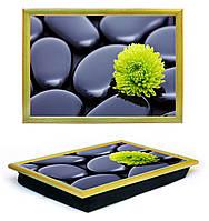 Поднос на подушке Lap Tray Камни