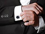 """Срібні запонки """"Лорд"""", фото 4"""