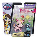 Литл Пет Шоп зверюшки Варен и Мира Hasbro Littlest Pet Shop Warren Plainley and Mira Surrey, фото 2