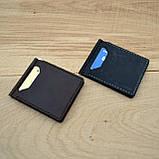 Коричневый зажим для денег с внешними карманами Mr.Falke, фото 6