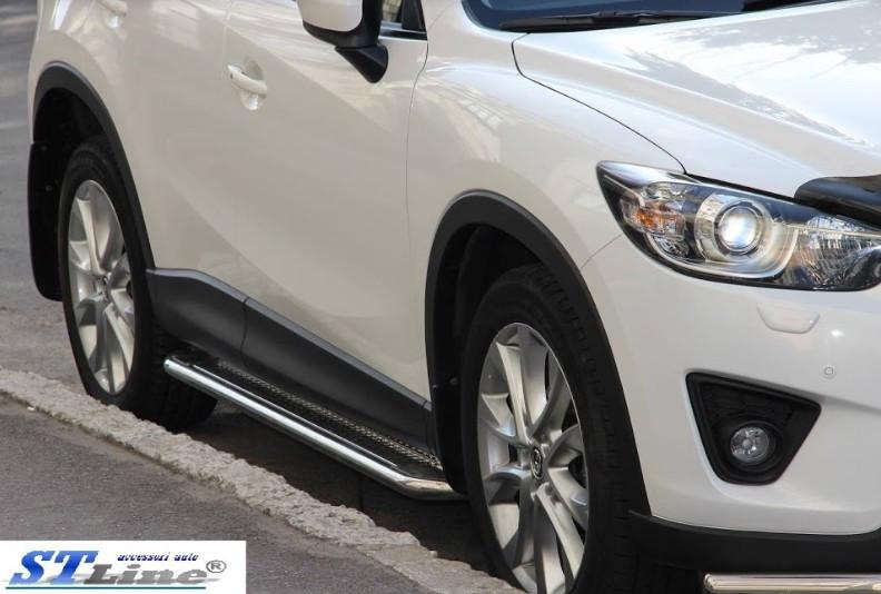 Пороги Mazda CX5 / Мазда CX5 2012-, фото 1