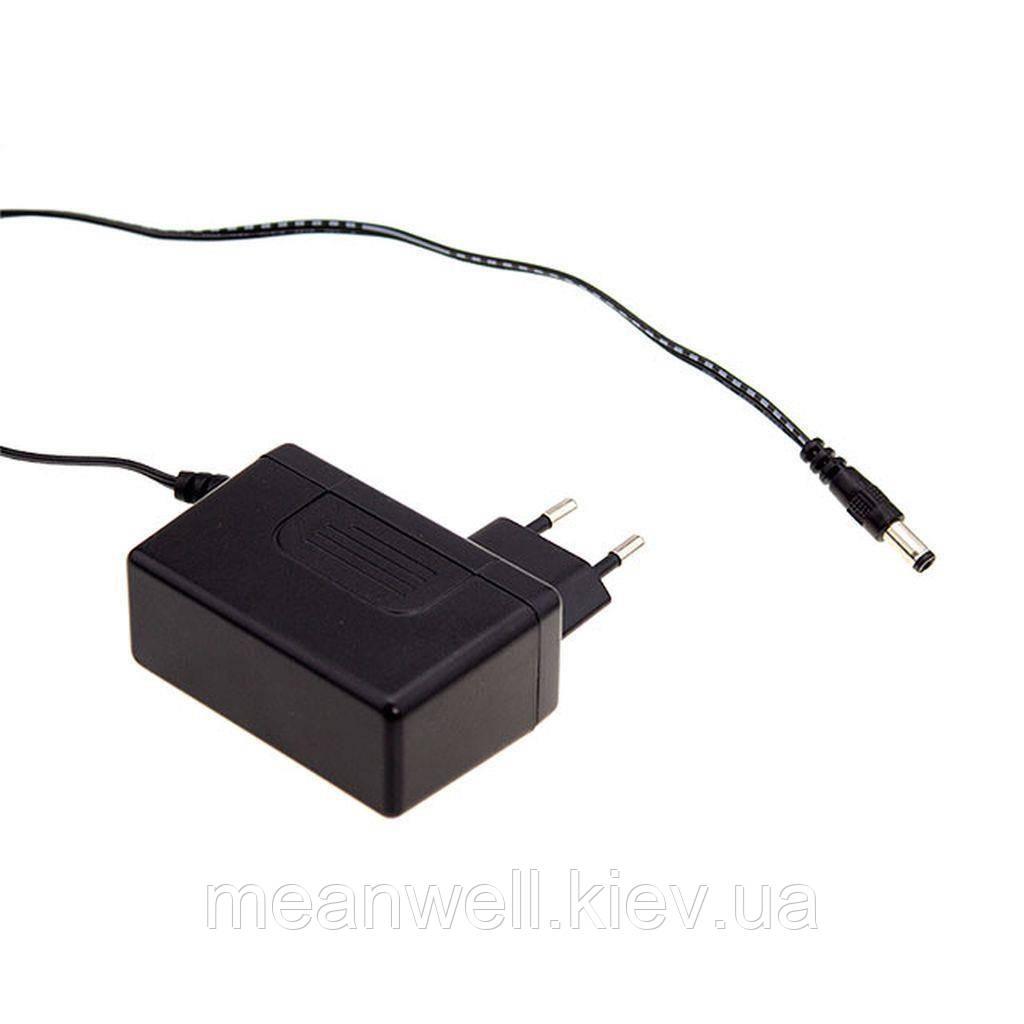 SGA18E09-P1J AC DC адаптер питания  9В, 2А Mean Well