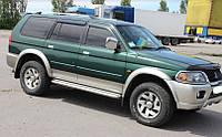 Пороги Mitsubishi Pajero Sport / Митсубиши Паджеро 1996-2008, фото 1