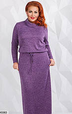 Женской длинное платье больших размеров:50-52,54-56, фото 3