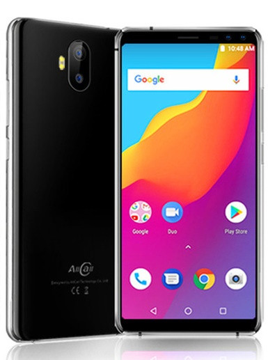 "Смартфон AllCall S1 2/16Gb Black, 8+2/2+2Мп, MT6580A, 2sim, 5.5"" IPS, 5000мАч, GPS, 4 ядра, 3G"