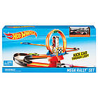 Трек Хот Вилс Петля и повороты Игровой набор Hot Wheels Track Mega Rally Set , фото 3
