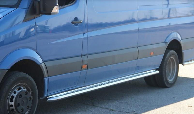 Пороги Mercedes Sprinter / Мерседес Спринтер 2007-2014 средняя база, фото 1