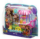 Игровой набор Энчантималс Фруктовая тележка Enchantimals Fruit Cart Fruit Cart & Monkey, фото 2