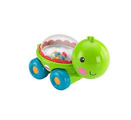 Fisher-Price Каталочка Черепашка с прыгающими шариками  Poppity Pop Turtle