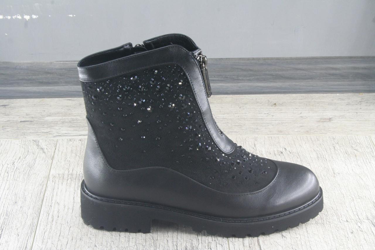Ботинки, полуботинки демисезонные Fugu, обувь женская из эко кожи, Размеры 36-41