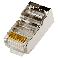 Коннектор Logicpower RJ45 FTP-8P8С 100
