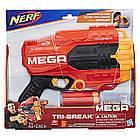 Бластер Нёрф Мега Три-Брейк Nerf N-Strike Mega Tri-Break, фото 2