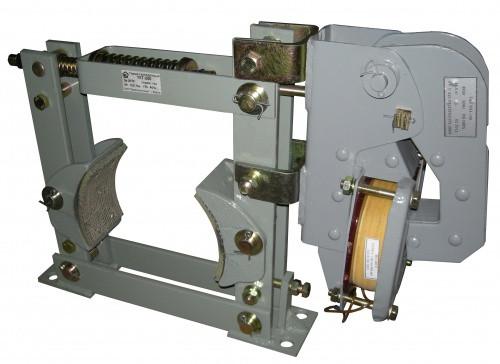 Тормоза колодочные ТКТ с электромагнитами МО