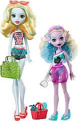 Monster high Family Lagoona Blue and Kelpie Blue Монстер Хай набор Лагуна Блю и сестра Келпи Блю