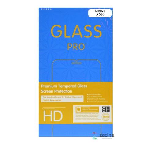 Стекло защитное Ultra Tempered Glass для Lenovo А536 Прозрачное, фото 2