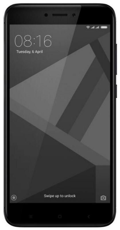 Смартфон Xiaomi-Redmi 4X 2/16GB Black