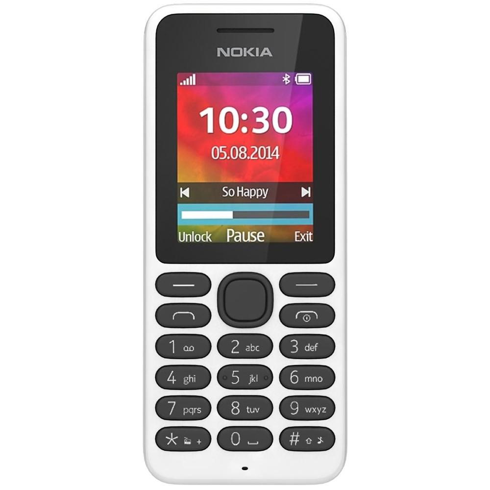 Мобільний телефон NOKIA 130 Dual SIM (білий)