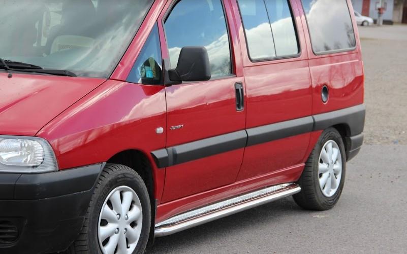 Пороги Peugeot Expert / Пежо Експерт 1995-2006 короткая база, фото 1