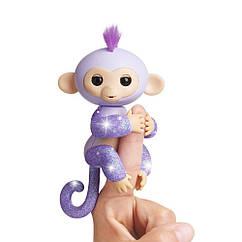 Оригинал обезьянка Блестящая - Кики фингерлинг  WowWee Fingerlings Glitter Monkey - Kiki