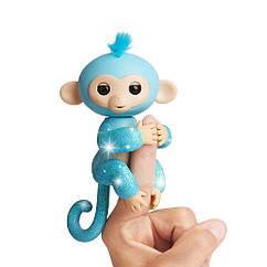 Оригинал обезьянка Блестящая - Омелия фингерлинг  WowWee Fingerlings Glitter Monkey - Amelia