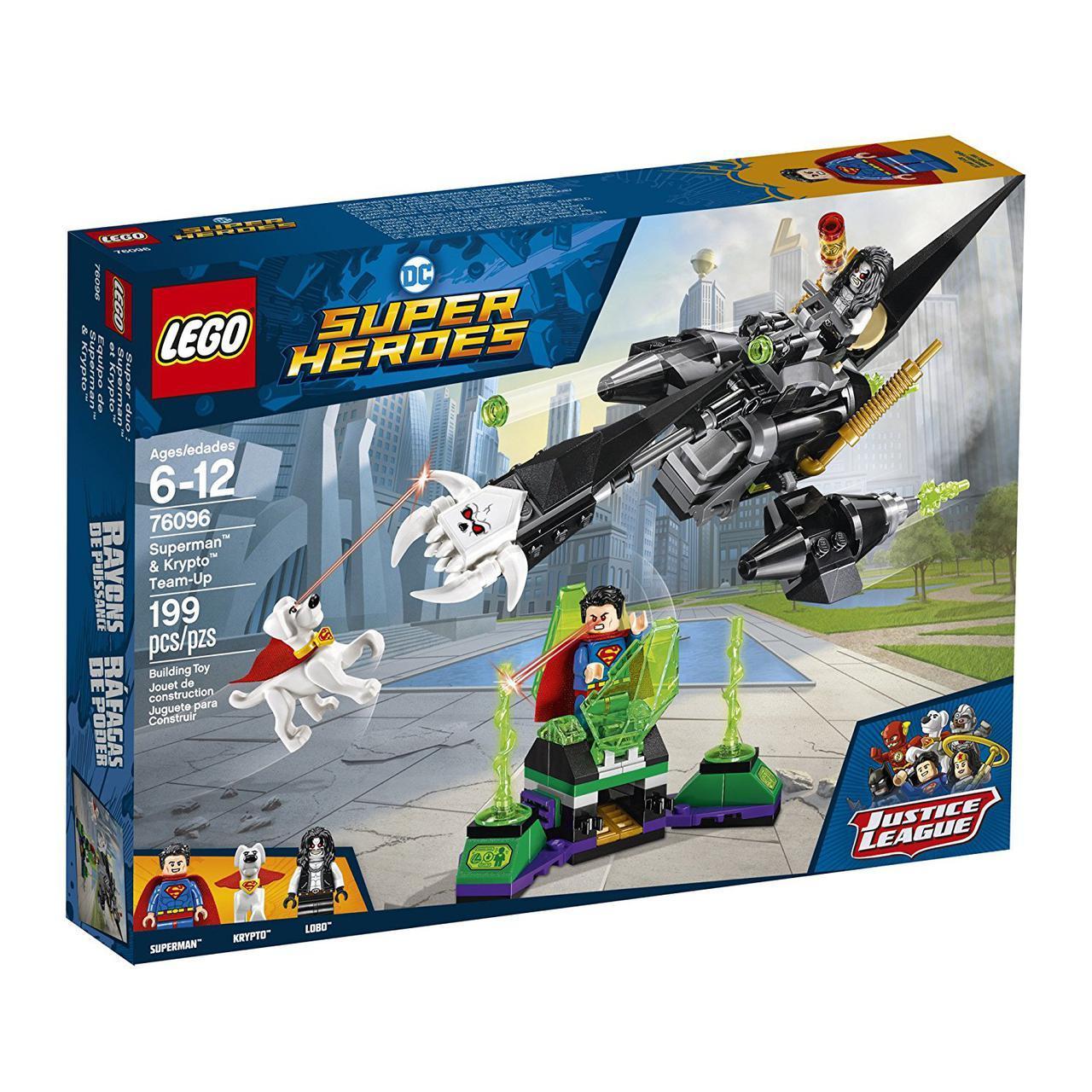 LEGO Лего Оригинал Супермен и Крипто  Superheroes Superman & Krypto 76096