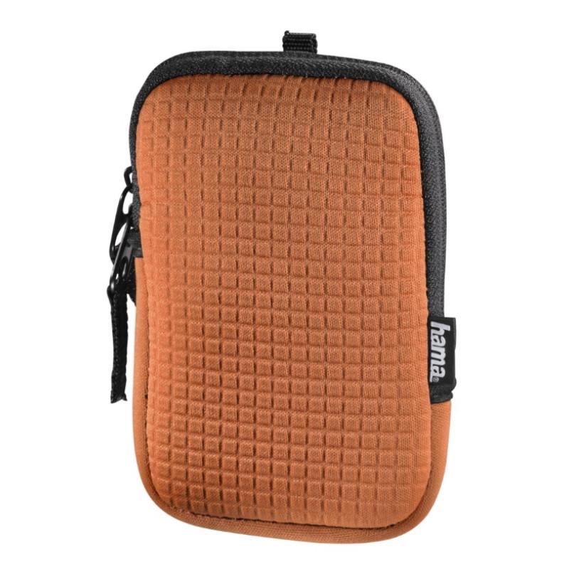 Чохол-футляр Hama для Фотоапарата (75x20x115мм) Fancy Neopren Quad ser. Оранжевий(00126660)