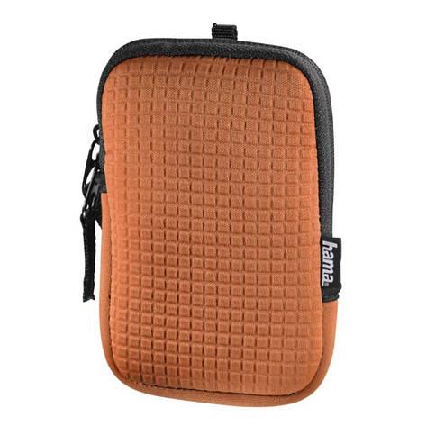 Чохол-футляр Hama для Фотоапарата (75x20x115мм) Fancy Neopren Quad ser. Оранжевий(00126660), фото 2