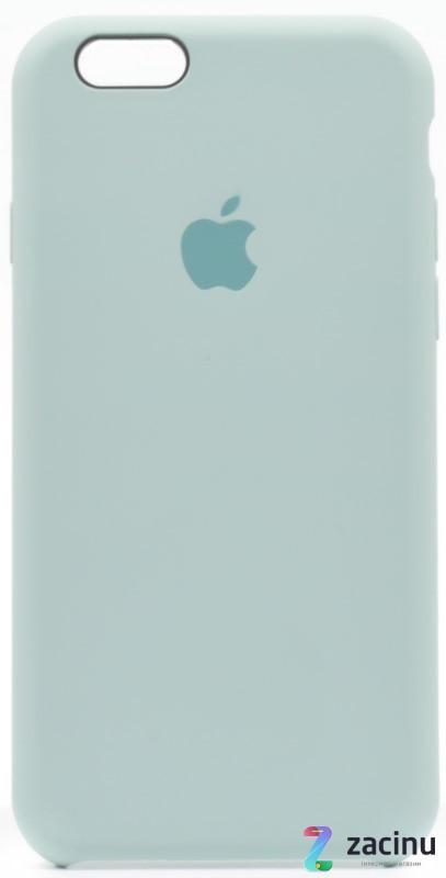 "Чохол-накладка для iPhone 6/6S (4.7"") Silicon Case ser. (veri high copi) М'ятний(Mint)"