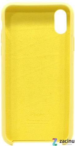 "Чохол-накладка для iPhone X (5.8"") Silicon Case ser. (veri high copi) Жовтий(Yellow), фото 2"