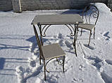 Стол из камня, фото 4