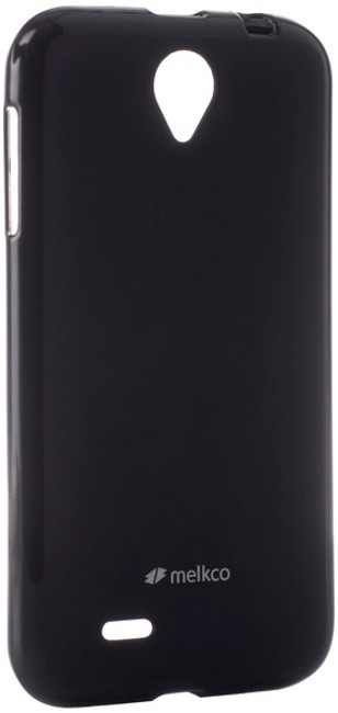 Чехол накладка Melkco для Lenovo A850 Poly Jacket ser. TPU Черный