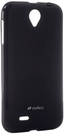 Чехол накладка Melkco для Lenovo A850 Poly Jacket ser. TPU Черный, фото 2