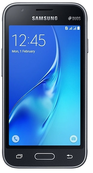 Смартфон SAMSUNG SM-J105H ZKD (чорний)