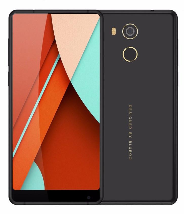 Смартфон Bluboo D5 Pro 3/32Gb Black, 13/8Мп, 5.5'' IPS, 2sim, 4 ядра, GPS, 2700mAh, MTK6737, 4G