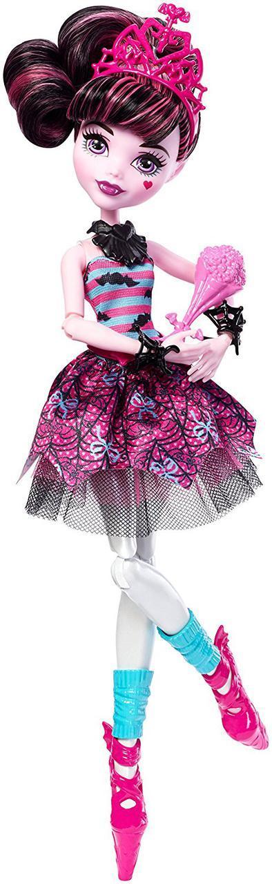 Монстер Хай Дракулаура Новинка 2018 серии Балерины Monster High Ballerina Ghouls Draculaura