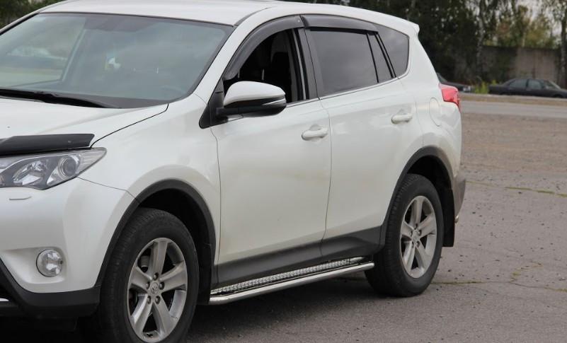Пороги Toyota Rav 4 XA 40 / Тойота Рав 4 2013-2015, фото 1