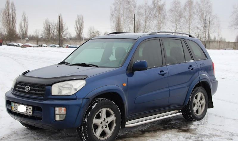 Пороги Toyota Rav 4 XA 30 / Тойота Рав 4 2005-2010, фото 1