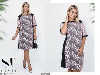Нарядное женское платье большие размеры: 50-52, 54-56, 58-60, 62-64, фото 2