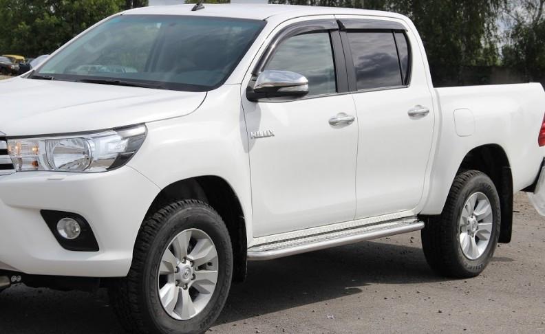 Пороги Toyota Hilux / Тойота Хайлюкс 2015-, фото 1