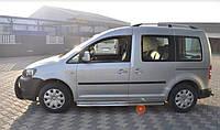 Пороги Volkswagen Caddy Type 2k / Фольцваген Кадди 2004-2010, фото 1