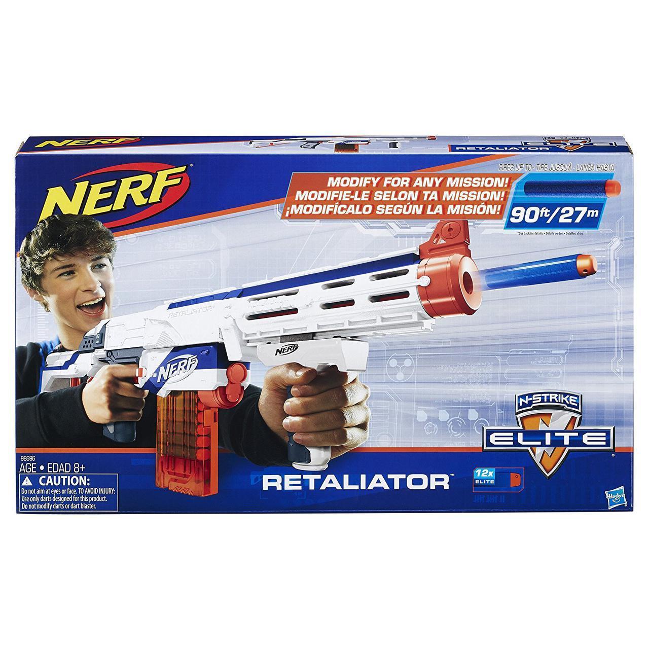 Бластер Нерф Элит Риталиэйтор Nerf N-Strike Elite Retaliator 98696