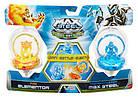 Набор Волчков Max Steel Turbo Battlers Fire Elementor vs. Transformation Max Steel, фото 3
