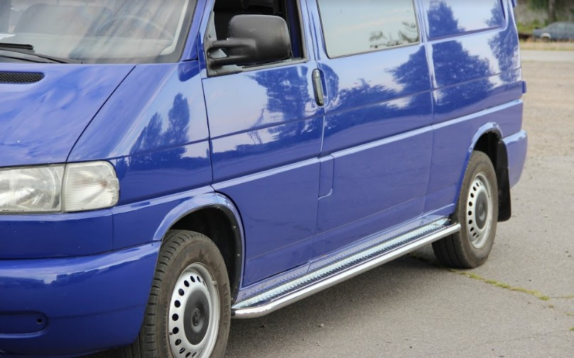 Пороги Volkswagen T4 / Фольцваген Т4 1990-2003 длинная база, фото 1