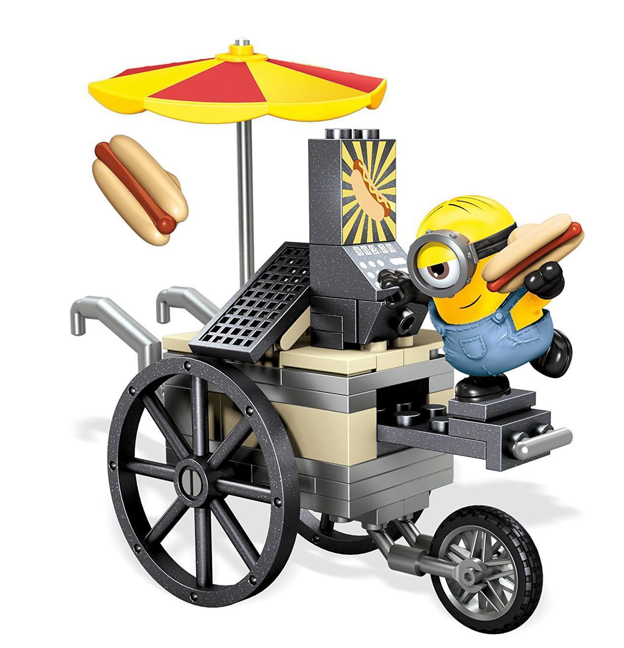 Конструктор Мега Блокс Миньоны Летающие хот-доги Mega Construx Minions Flying Hot Dogs