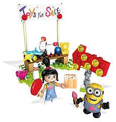 Конструктор Мега Продажа игрушек у Агнес Mega Construx Despicable Me Agnes Toy Sale
